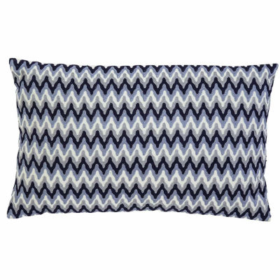 Signature Design by Ashley Chevron Embroidered Pillow