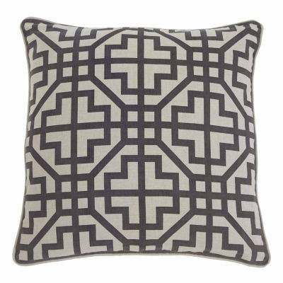 Signature Design By Ashley Geometric Throw Pillow Cover