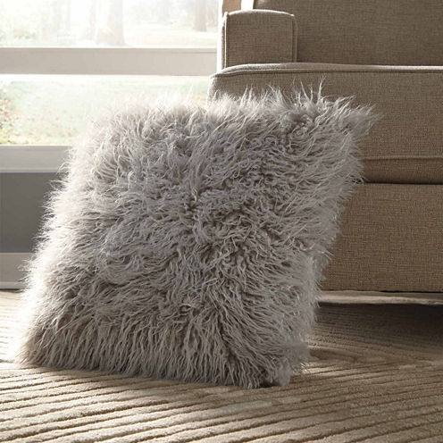 Signature Design by Ashley® Giancario Faux Fur Pillow