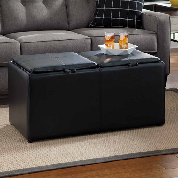 Signature Design by Ashley® Brindon Storage Ottoman - Benchcraft®