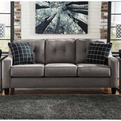 Signature Design By Ashley Brindon Queen Sleeper Sofa Benchcraft