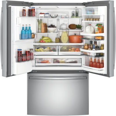 "GE® 36"" Counter-Depth French Door Refrigerator"