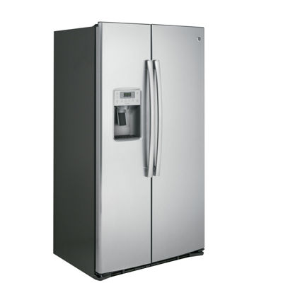 GE® Profile™ Series 21.9 Cu. Ft. Counter-Depth Side-By-Side Refrigerator
