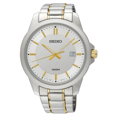 Seiko Mens Two Tone Bracelet Watch-Sur247