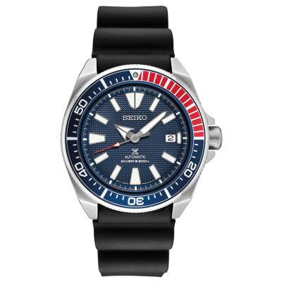 Seiko Prospex Automatic Diver Mens Black Strap Watch-Srpb53