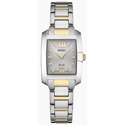 Seiko Dress Sport Womens Two Tone Bracelet Watch-Sup379