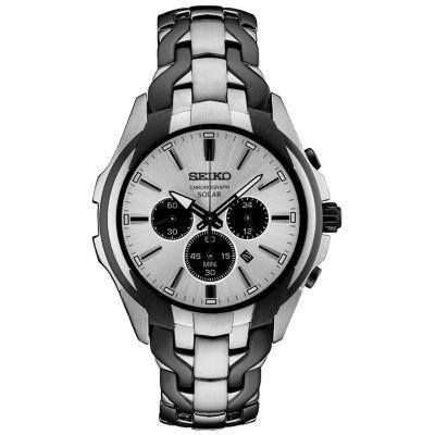 Seiko Chronograph Mens Multicolor Bracelet Watch-Ssc635