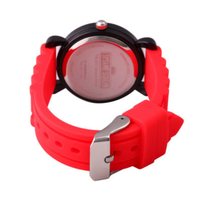 Sesame Street Boys Red Strap Watch-Wss000025