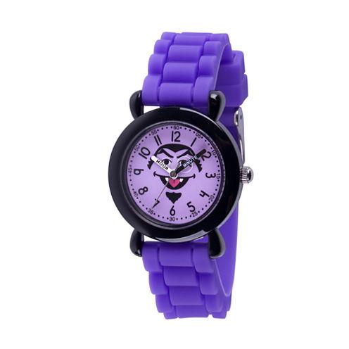 Sesame Street Girls Purple Strap Watch-Wss000031