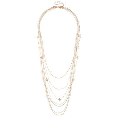 Decree Womens Round Strand Necklace