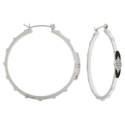 Mixit 1 3/4 Inch Hoop Earrings