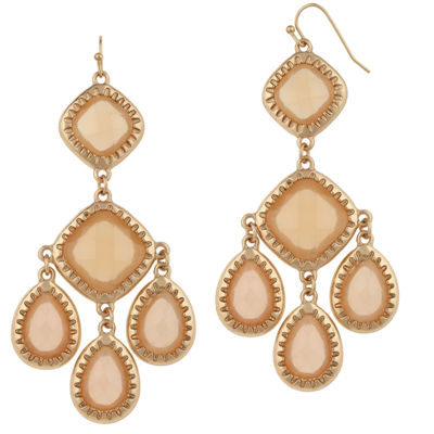 Mixit Champagne Drop Earrings