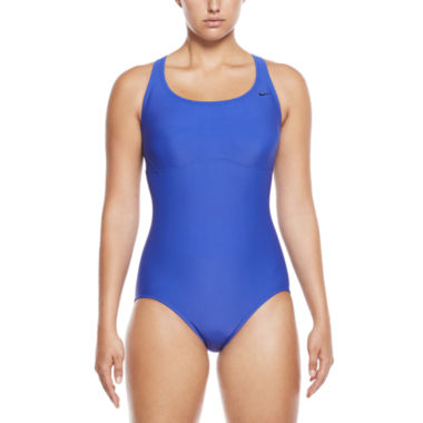 Nike Capsule Collection Solid One Piece Swimsuit