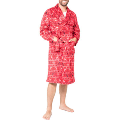 Red Fairisle Family Pajama Robe- Men's