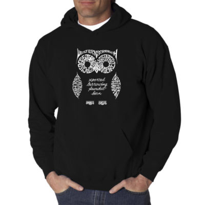 Los Angeles Pop Art Owl Logo Hoodie