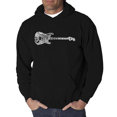 Los Angeles Pop Art Rock Guitar Logo Hoodie