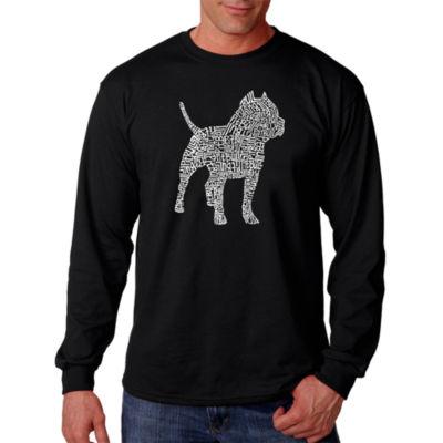 Los Angeles Pop Art Pitbull T-Shirt