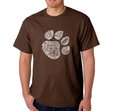 Los Angeles Pop Art Catpaw Logo Graphic Word Art T-Shirt
