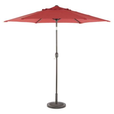Outdoor Oasis 9' Cranktilt Market Patio Umbrella