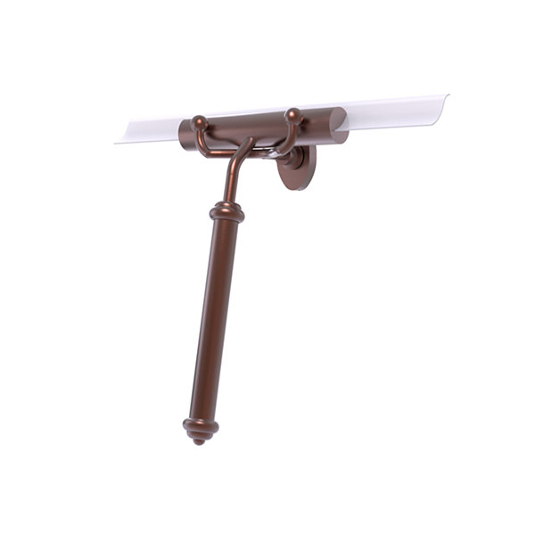 Allied Brass  Shower Squeegee With Smooth Handle