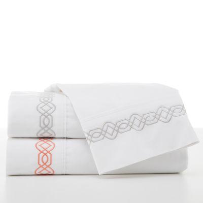 Martex 200tc Trellis Embroidered Easy Care Sheet Set