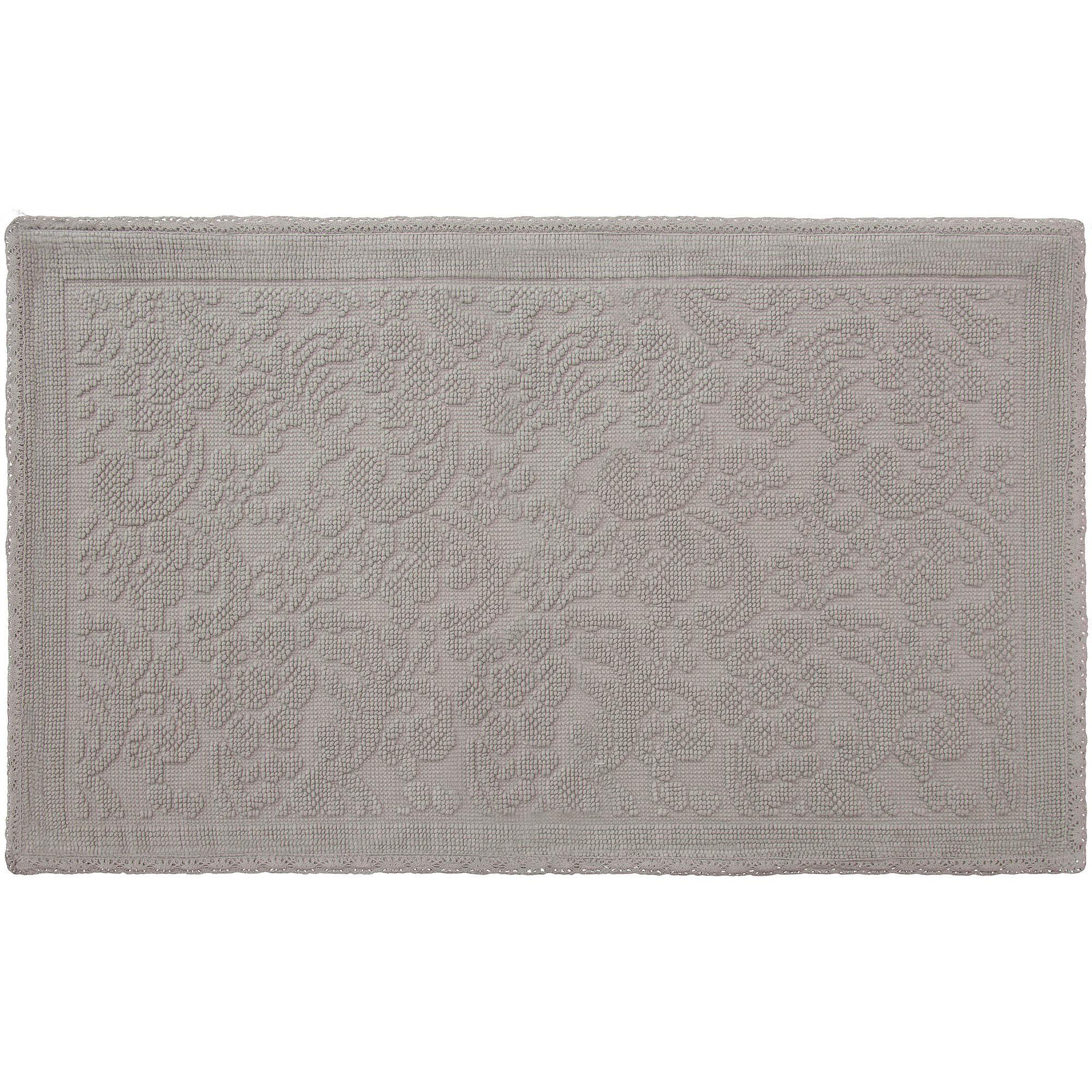 Turkish Cotton Flat Weave Bath Rug Collection