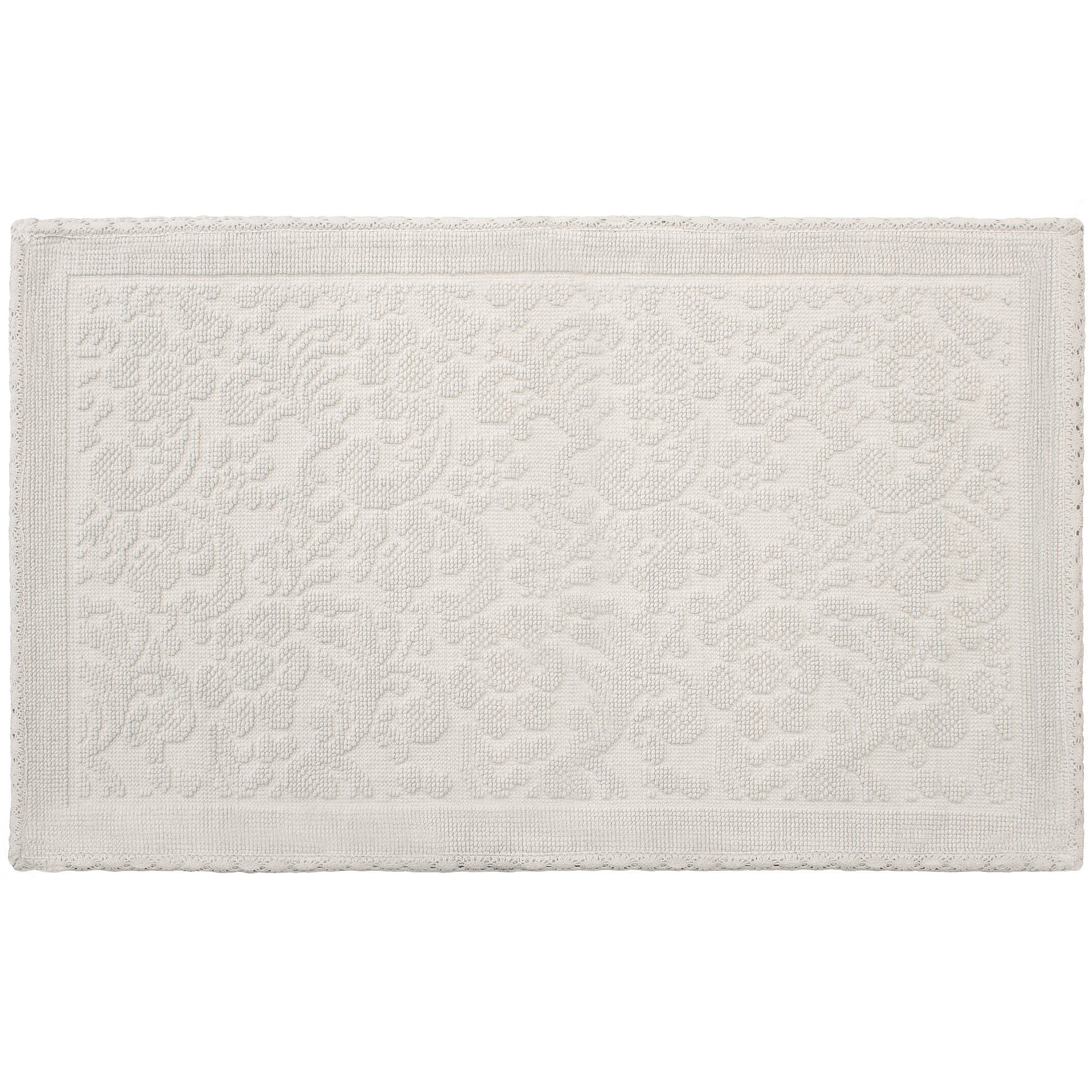 Turkish Cotton Flat Weave Bath Rug Collection