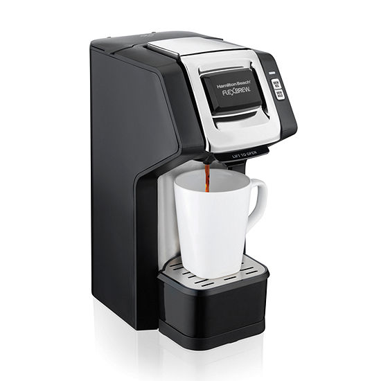 Hamilton Beach Flexbrew Single Serve Plus Coffee Maker In Black