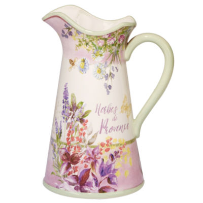 Certified International Herbes De Provence Serving Pitcher