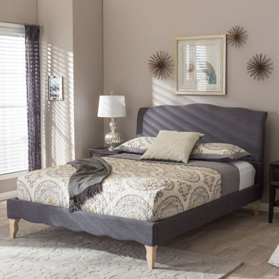 Baxton Studio Fannie Platform Bed