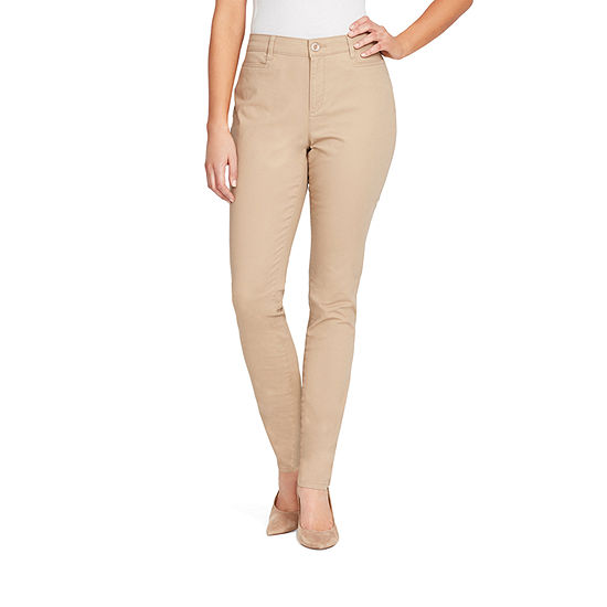 Gloria Vanderbilt Amanda Straight Fit Tapered Trouser
