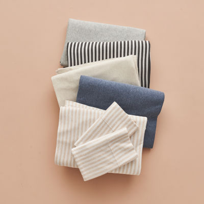 Home Expressions Jersey Sheet Set