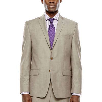 Collection by Michael Strahan Taupe Suit Jacket - Classic Fit