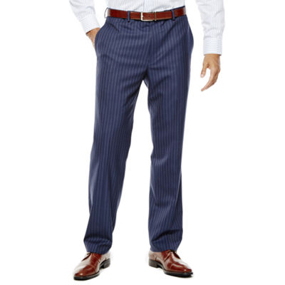 Collection by Michael Strahan Striped Navy Suit Pants - Classic Fit