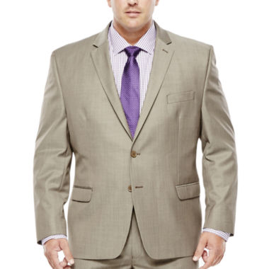 Collection by Michael Strahan Taupe Suit Jacket - Big & Tall