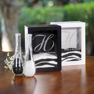 Cathy's Concepts Unity Sand Ceremony Shadow Box Set
