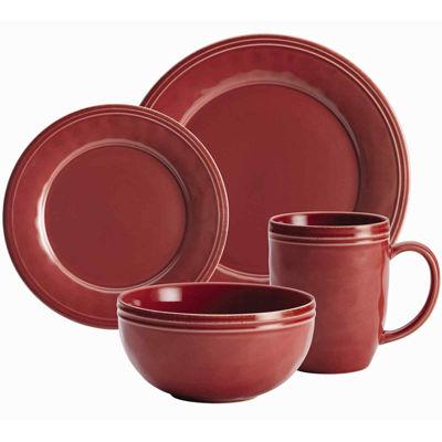 Rachael Ray® Cucina 16-pc. Dinnerware Set  sc 1 st  JCPenney & Rachael Ray® Set of 4 Double Ridge Salad Plates - JCPenney