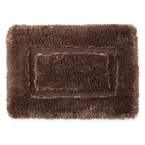 Chiffon Super Soft Bath Rug Collection JCPenney