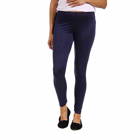 24/7 Comfort Apparel Maternity Womens Full Length Leggings