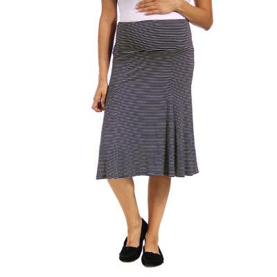 24/7 Comfort Apparel Full Skirt-Maternity