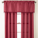 Jardan 3-Pack Jaccquard Rod-Pocket Curtain Panels