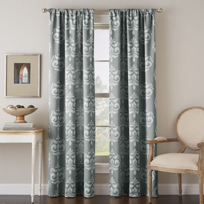 Chantel Rod-Pocket Curtain Panel
