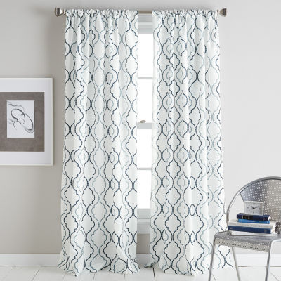 Coco Rod-Pocket Curtain Panel