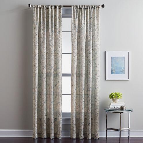 Winston Rod-Pocket Curtain Panel