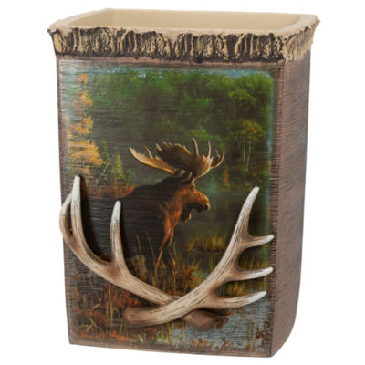 Back Bay Moose Wastebasket
