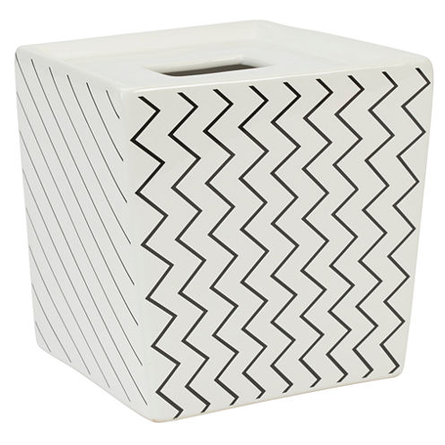 Modern Angles Tissue Box Cover