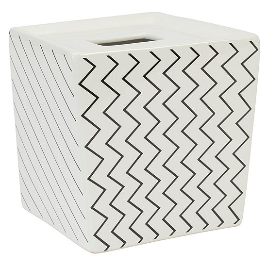 Modern Angles Tissue Box Cover
