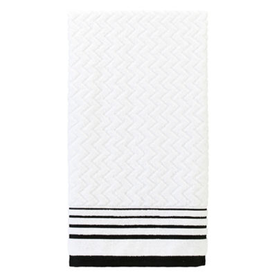 Modern Angles Bath Towel Collection