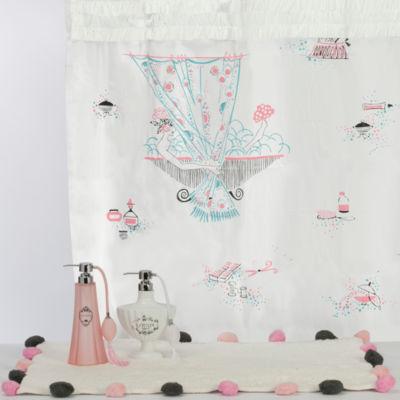 Oolala Peva Shower Curtain