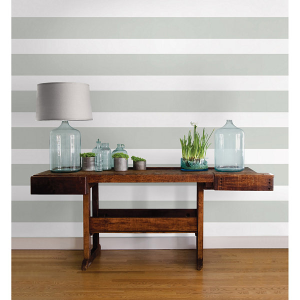 WallPops Dove Peel And Stick Stripe- Set of 2